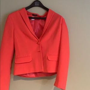 Venus orange pink blazer